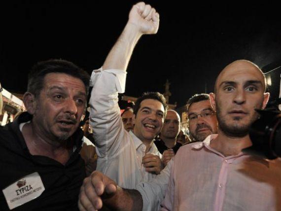 Alegerile din Grecia arunca din nou zona euro in haos. Acordurile cu FMI si UE ar putea fi blocate, euro cade, bursele deschid in scadere