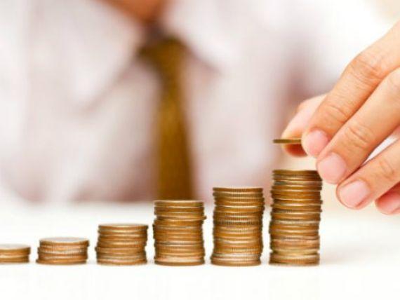 Salariul mediu a crescut cu 71 de lei, la 1.543 lei. Cine sunt fericitii care castiga, in medie, peste 5.000 de lei pe luna