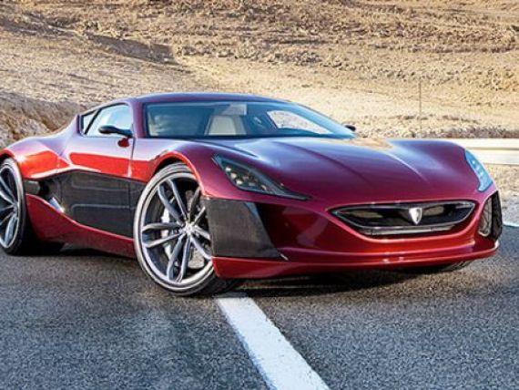 Lux pentru miliardarii lumii. Cea mai rapida masina electrica are 1088 cai-putere, costa 1 milion de dolari si se fabrica in Croatia FOTO+VIDEO