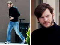 Ashton Kutcher s-a transformat in Steve Jobs. Prima imagine in care actorul il imita pe geniul de la Apple