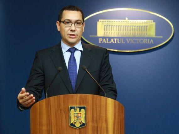 Situatia Romaniei este stabila si sub control, asigura premierul, dupa ce Statistica a anuntat reintarea in recesiune