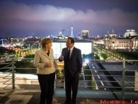 """Merkel si Hollande, la unison: Atena ramane la euro. Nu s-au inteles si cum se va realiza minunea. Replica dura a lui """"Iron Frau"""""""