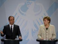 Hollande face primul pas in razboiul cu Merkel: Franta nu va ratifica pactul fiscal al UE in forma actuala