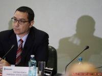 """Premierul Ponta vrea taxa de solidaritate pentru bugetarii cu """"venituri excesive"""""""