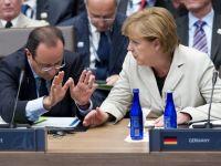 Merkel si Hollande continua sa se contrazica. Germania respinge euroobligatiunile pe care le cere Franta