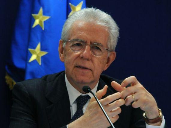 Monti:  Italia are o expunere uriasa la riscul de contagiune a crizei datoriilor din zona euro