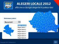 Stirileprotv.ro a lansat aplicatia Alegeri locale 2012. Rezultatele votului, afisate in timp real pe site, mobil si tableta