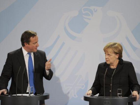 Declaratie-soc a liderilor europeni: Pactul bugetar nu este suficient pentru salvarea zonei euro. Cameron propune  o uniune bancara , Merkel,  o uniune politica
