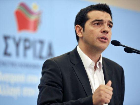 Premierul grec respinge prelungirea programului de asistenta financiara. Actiunile bancilor grecesti s-au prabusit in urma anuntului lui Tsipras