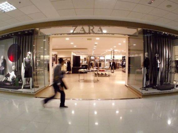 Zara si Bershka se vand bine. Profitul Inditex, cel mai mare retailer de imbracaminte din lume, a crescut cu 30%