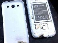 Un Samsung Galaxy S III a luat foc din senin. Compania sud coreeana nu stie cum sa explice incidentul