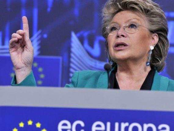Comisarul European pentru Justitie si Drepturi Fundamentale:  Sunt foarte ingrijorata de atacurile recente la independenta CCR