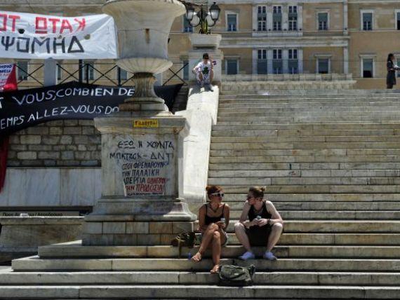 Grecia i-a enervat la culme pe liderii UE, care nu mai vor sa ii dea bani. Elenii raman fara salarii si pensii in cateva saptamani