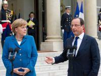 """Mitul cuplului franco-german, distrus de presedintele francez. Hollande nu gaseste """"chimia"""" pe care Merkel a avut-o cu predecesorul sau"""