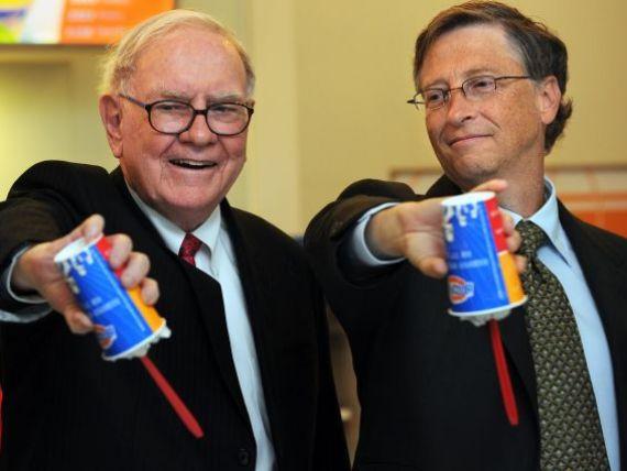Warren Buffett si-a donat compania. Miliardarul a dat fundatiei caritabile a lui Bill Gates actiuni in valoare de 1,5 mld dolari