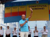 Basescu: Abandonez mandatul daca la referendum vin sub 50%, iar votul majoritar va fi impotriva mea