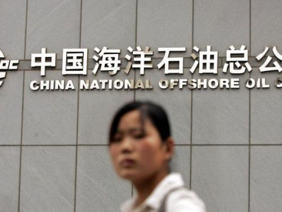 Beijingul pune stapanire pe petrolul din Canada, SUA, Africa si Golful Mexic. Cea mai mare achizitie in strainatate a unei companii chineze