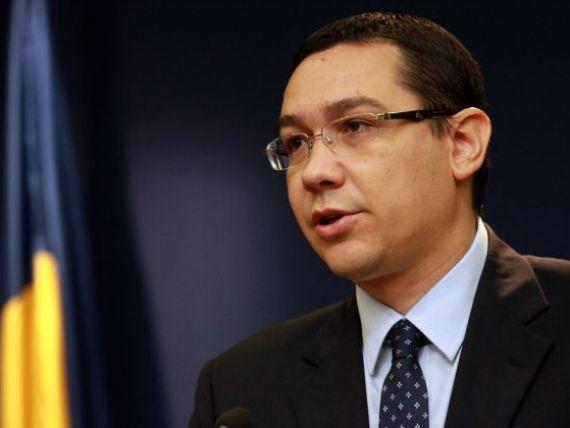Ponta: FMI nu ne-a cerut si un castigator la privatizarea Oltchim, ci doar organizarea licitatiei