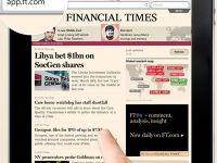 Premiera. Numarul abonatilor Financial Times pe online a depasit cifra celor din print. Digitalul a ajuns sa produca jumatate din veniturile FT