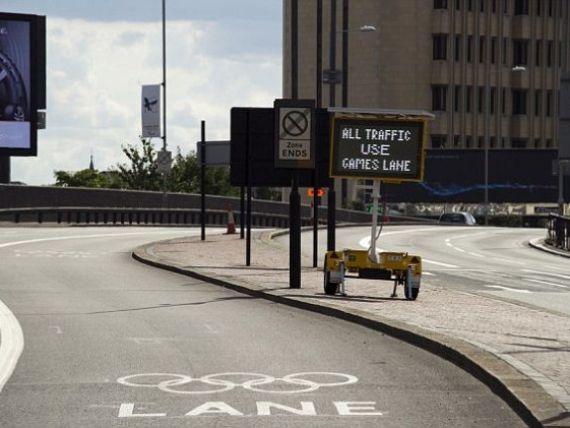 De ce a ramas pustiu centrul Londrei in plina desfasurare a Jocurilor Olimpice FOTO
