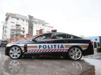 Politia Rutiera a primit in dar un Jaguar de 510 cai putere