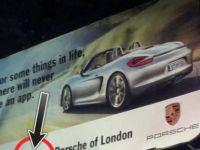 Englezii au facut de ras Porsche in toata lumea cu o greseala de gradinita