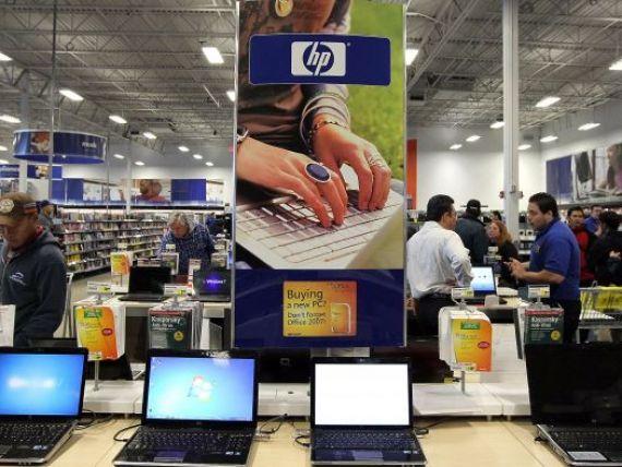 Hewlett-Packard a avut cea mai mare pierdere trimestriala din ultimii 20 de ani
