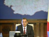 """Ponta: """"Am rectificat bugetul preluat de la fosta guvernare"""". Investitiile, sacrificate in favoarea cheltuielilor sociale"""