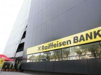 Profitul Raiffeisen Bank Romania a crescut cu 28% in semestrul I, la 50 milioane de euro