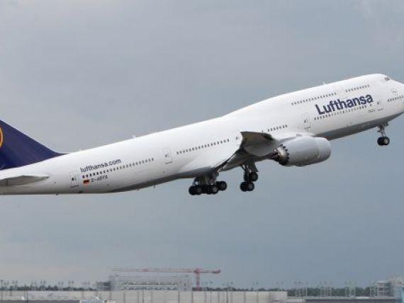 Perturbarile provocate de greva de la Lufthansa se simt si sambata. 20 de zboruri au fost anulate