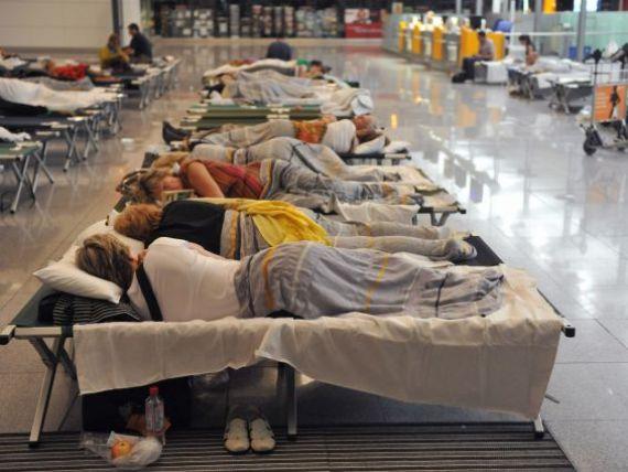 Lufthansa nu renunta la proteste. A intrat intr-o greva de 24 de ore, 14 curse anulate de pe Aeroportul Otopeni GALERIE FOTO