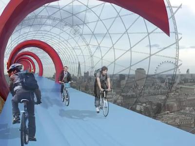 Fara autobuze, masini si stres. Proiectul de zeci de milioane de lire, care va schimba panorama Londrei