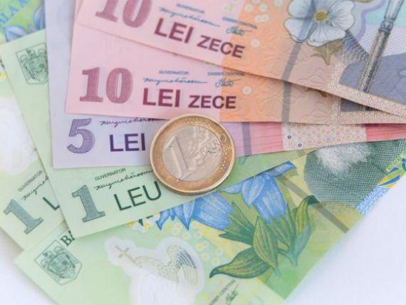 Cursul BNR a urcat la 4,4792 lei/euro