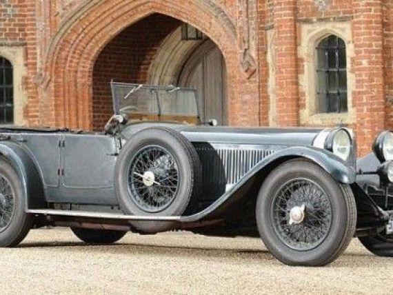Mercedes de 4,5 mil $. Povestea masinii din 1928, care a fost uitata de proprietari in garaj timp de 84 de ani