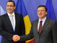 """Sfaturile lui Barroso pentru Romania: """"Restructurarea companiilor de stat si reforma sanatatii, cruciale pentru buget"""""""