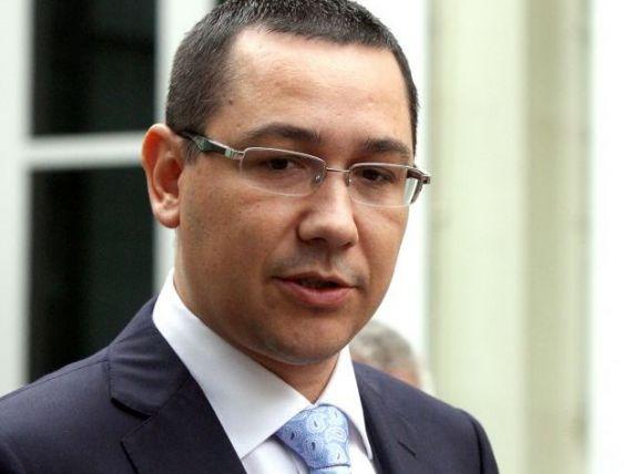Ponta:  Castigatorul licitatiei pentru Oltchim sa vina in maximum 10 zile cu banii, altfel e infractiune