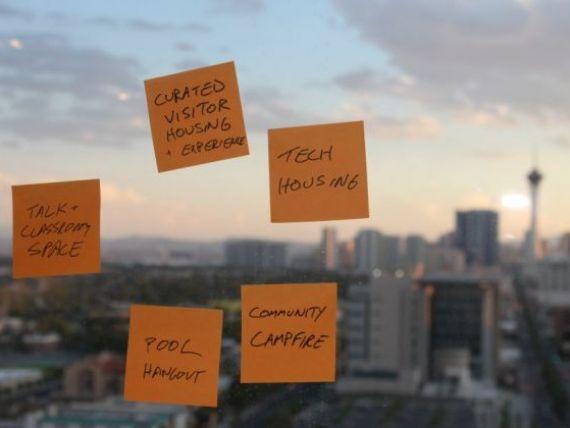 Cum transforma un antreprenor american Las Vegas in cel mai  cool oras din lume