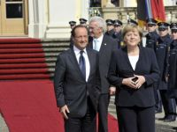 Lupta anticriza din Europa, impiedicata de Merkel si Hollande. Uniunea bancara va intarzia