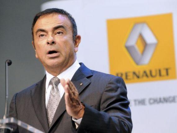 Declaratie surprinzatoare a lui Carlos Ghosn:  Renault, in forma sa actuala, ar putea sa dispara