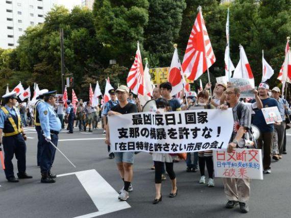 Disputa teritoriala dintre Japonia si China poate provoca declinul economiei nipone