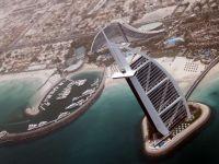 Dubaiul vazut de sus. Imagini spectaculoase surprinse de o camera montata pe spatele unui vultur imperial. VIDEO