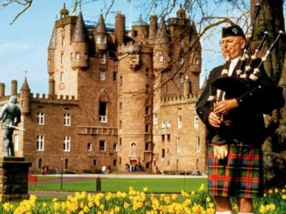 Nationalismul scindeaza Europa. Scotia si-ar putea castiga independenta fata de Regatul Unit, in 2014