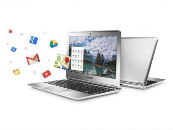 Google lanseaza laptopul low-cost, cu care face concurenta producatorilor de tablete. GALERIE FOTO