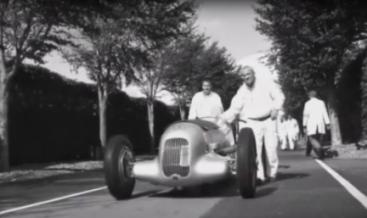 Cursa istorica in Anglia 2012 cu cele mai tari Mercedes-uri din 1934