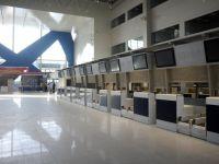 Noul terminal de plecari al Aeroportului Henri Coanda. GALERIE FOTO
