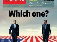 Saptamanalul financiar britanic The Economist il sustine in alegeri pe Barack Obama