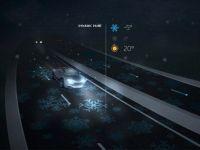 """Autostrada inteligenta se ilumineaza singura, """"da indicatii"""" soferilor si reincarca acumulatorii masinilor electrice. Se gaseste in Europa"""