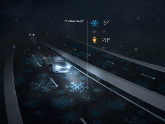 Autostrada inteligenta se ilumineaza singura,  da indicatii  soferilor si reincarca acumulatorii masinilor electrice. Se gaseste in Europa