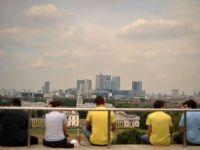Cartierul financiar al Londrei se cutremura