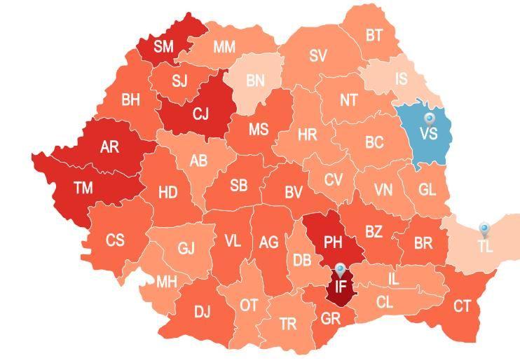 Cum Arata Astazi Romania Cea Mai Noua Harta Demografica Incont